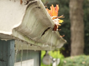 Ohio clogged gutters