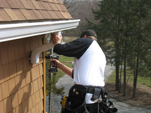 Westerville, OH's experts for gutter installation