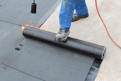 Residential and commercial flat roofs in OH